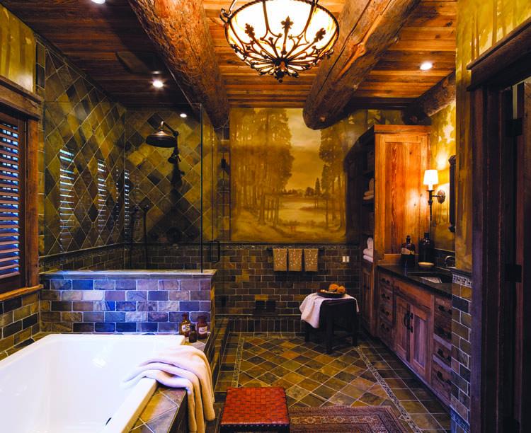 Wonder in the Woods - Master Bath
