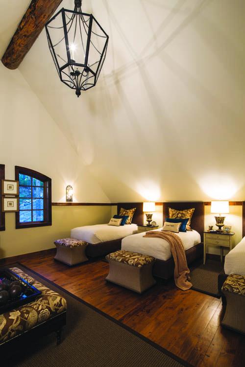 Wonder in the Woods - Loft Bedroom