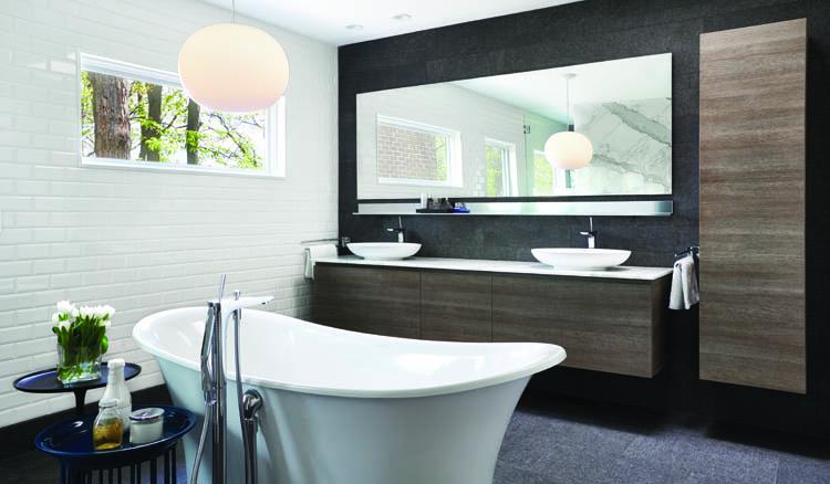 Cooking Up Modern - Master Bath