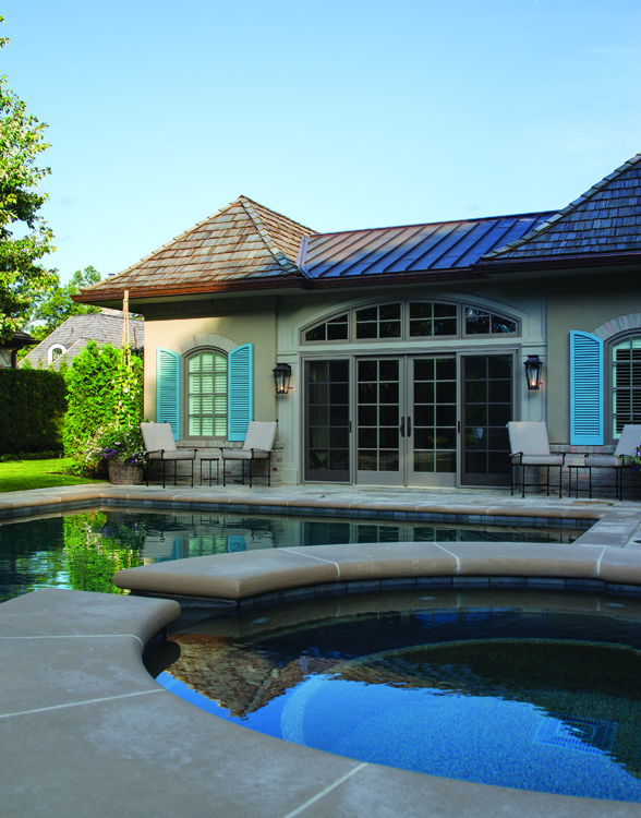 Paradise Found - Pool House Exterior