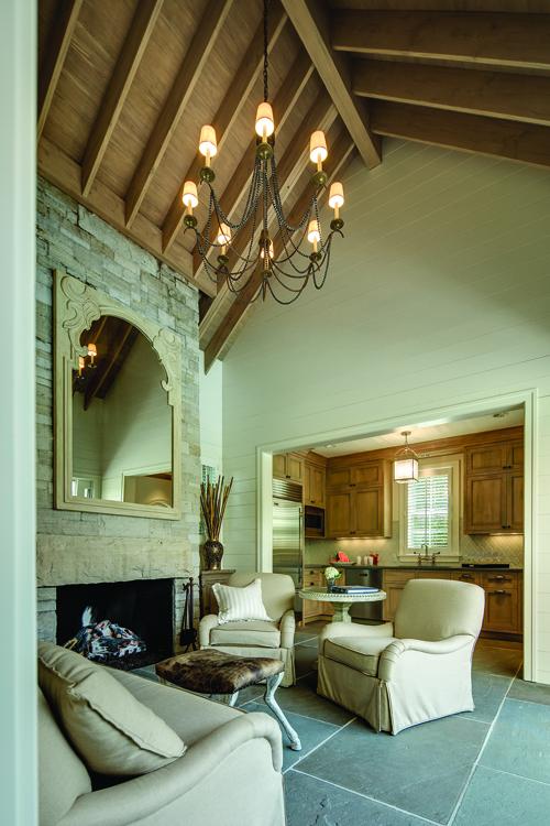 A Classic Splash - Fireplace