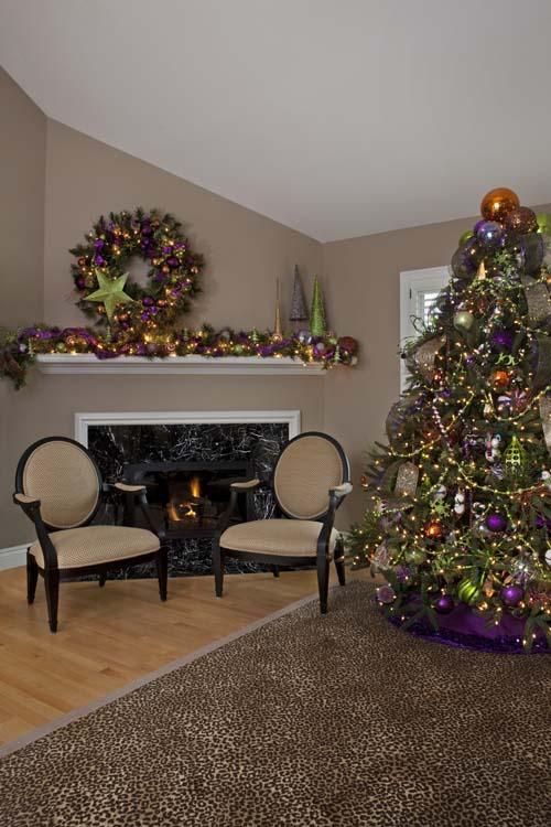 Very Merry Modern - Fireplace