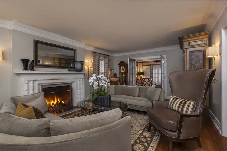 Romancing the Revival - Living Room