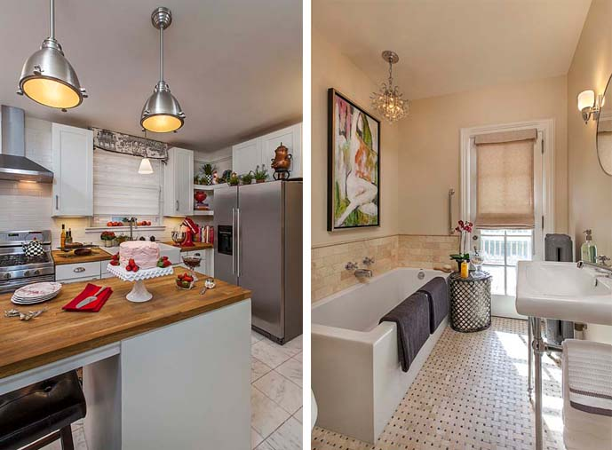 Romancing the Revival - Kitchen