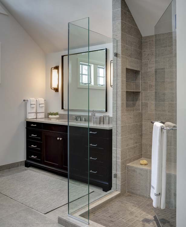 Laid-Back Luxe - Master Bath