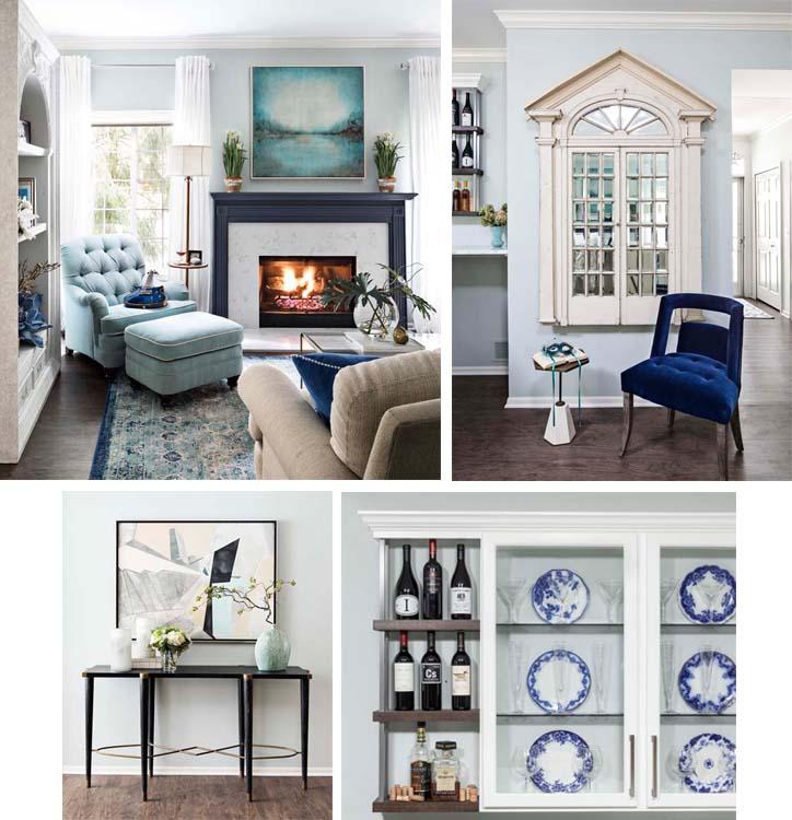 Rhapsody in Blue - Collage