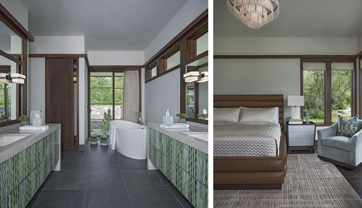 Living in Art - Master Bath