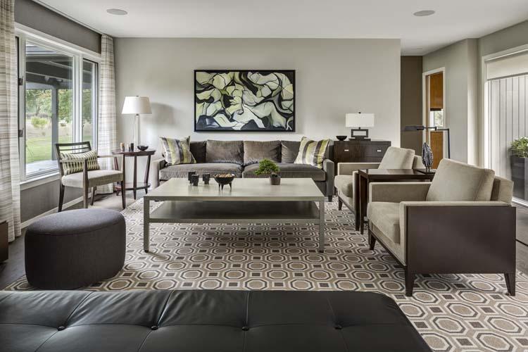 Mid-Century Makeover - Living Room