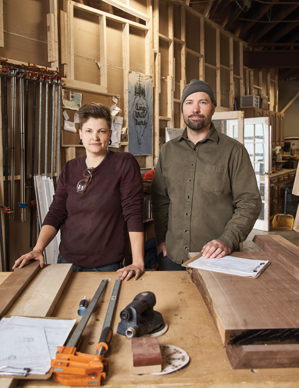 Shelby Holtzman and Dan Erickson of Long White Beard
