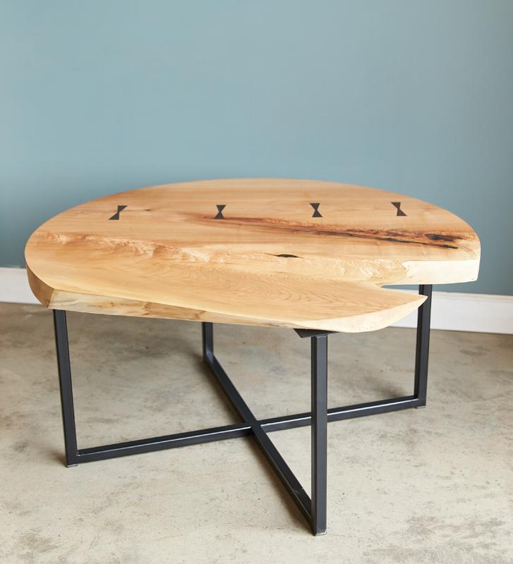 Long White Beard - Live-edge Coffee Table