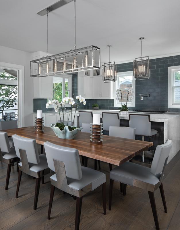 Dining room design by Jennifer Asmar
