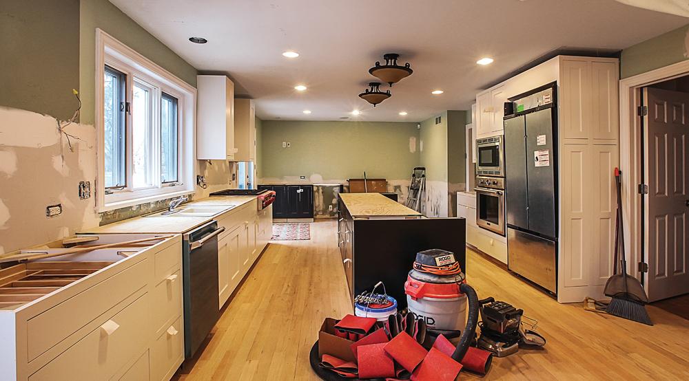 Ann Arbor Kitchen Before