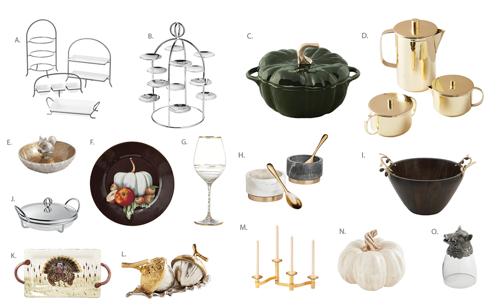 Fall Entertaining products