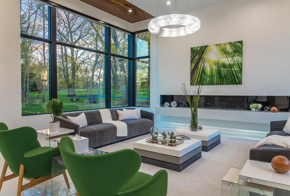 2020 Detroit Design Awards - Fireplace - 1st Place