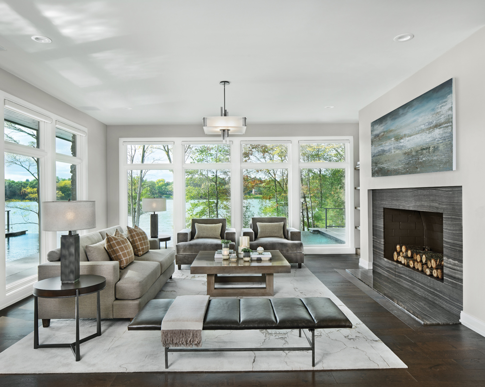 2020 Detroit Design Awards - Contemporary Living Room/Great Room - 1st Place