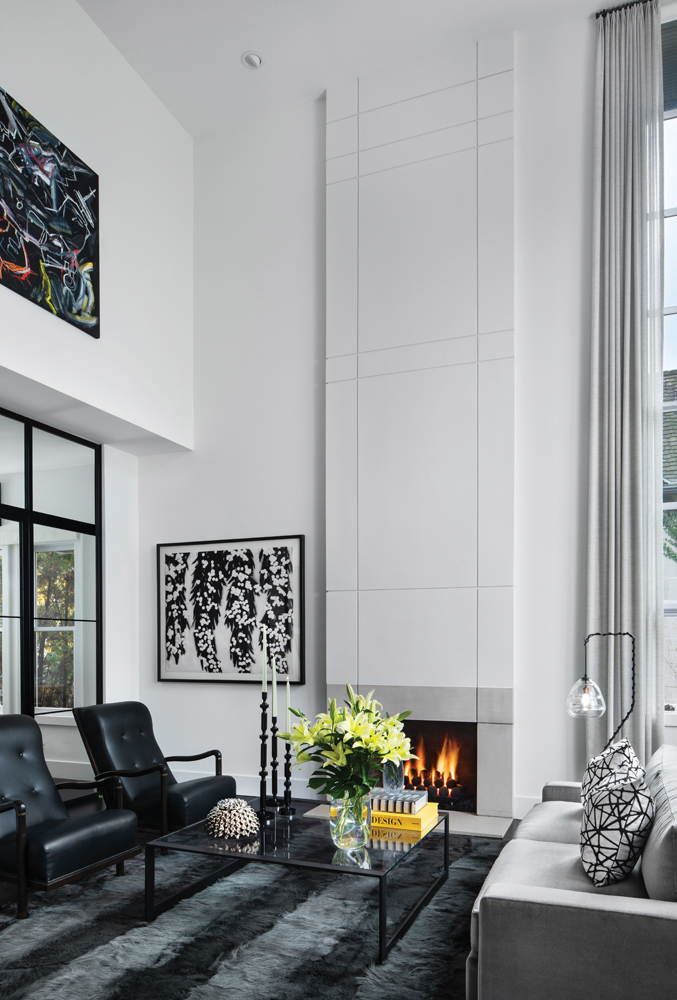 2020 Detroit Design Awards - Contemporary Living Room/Great Room - 2nd Place