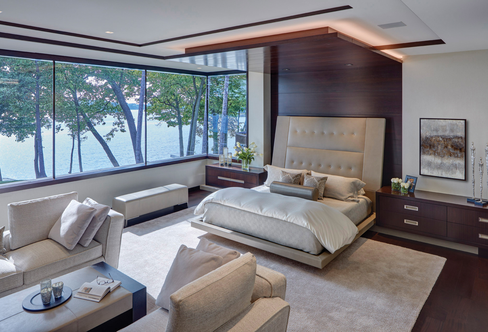 2020 Detroit Design Awards - Contemporary Master Suite - 2nd Place