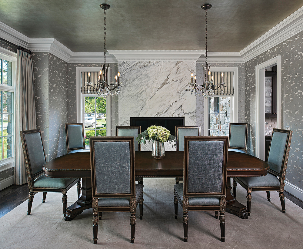 2020 Detroit Design Awards - Traditional Dining Room - 1st Place