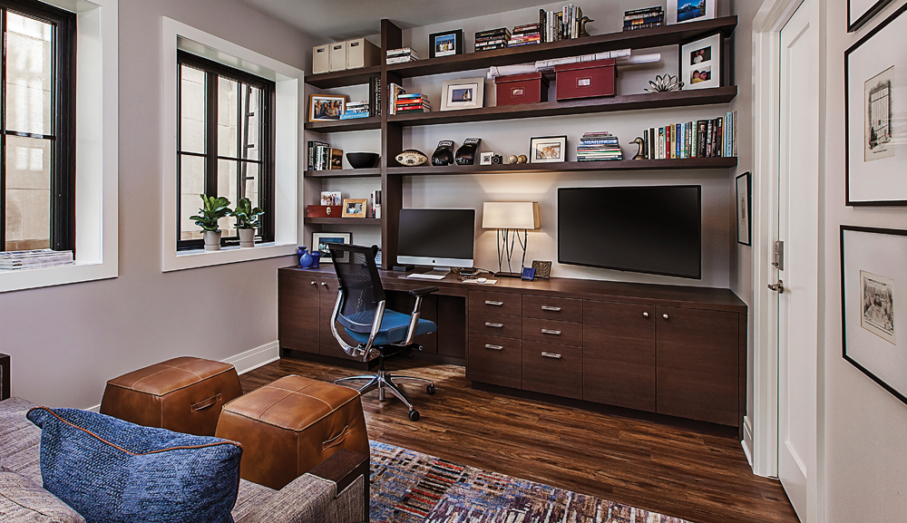 2020 Detroit Design Awards - Home Office - 1st Place